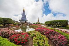 North Pagoda in Thailand Royalty Free Stock Photo