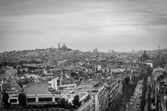 The North of Paris Royalty Free Stock Photography