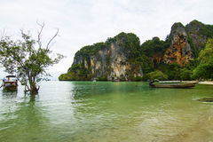 North part of the Railay beach Stock Photo