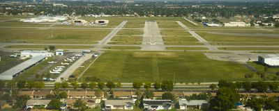 North Perry Airport Royalty Free Stock Images
