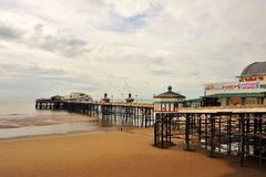North Pier, Blackpool Stock Image