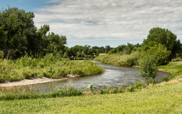 North Platte river stock image