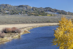 North Platte River in Colorado Stock Photography