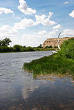 North Platte River, WY Royalty Free Stock Images