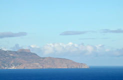 North point of the Island of Brava Royalty Free Stock Photo