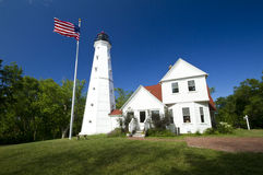 North Point Lighthouse Royalty Free Stock Images
