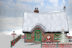 North Pole 1. 3d render of North Pole 1 Royalty Free Stock Images