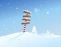 North Pole. Cartooney illustration depicting the North Pole Royalty Free Stock Photos