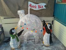 North pole bound royalty free stock photos