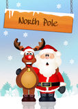 North pole Royalty Free Stock Photography
