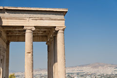 North Porch of Erechteum Stock Image