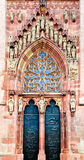 North Portal, Dom Sankt Bartholomäus Royalty Free Stock Images
