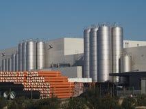 Portugal plastic industrie plant Stock Photo