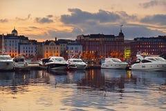 North Quay. Helsinki Stock Image