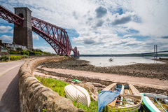 North Queensferry Harbour Stock Photography