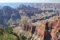 North Rim Grand Canyon Stock Photo