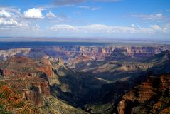 North rim of grand canyon Stock Photos