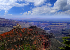 North Rim of the Grand Canyon Stock Images