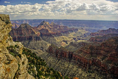 North Rim of Grand Canyon Stock Photo