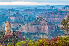 North Rim Grand Canyon Stock Photography