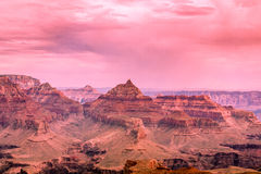 North Rim Grand Canyon Scenic Stock Image