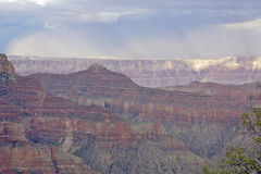 North Rim Grand Canyon Storm Royalty Free Stock Photos