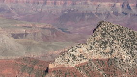 North Rim Grand Canyon Zoom In stock video footage