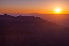 North Rim Sunrise Stock Image