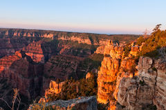 North Rim Sunrise Royalty Free Stock Image