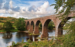 North River Esk Railway Bridge Stock Images
