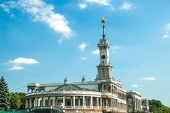 North river terminal in Moscow Stock Images