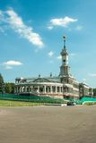 North river terminal in Moscow Royalty Free Stock Image