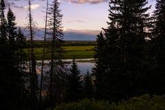 North river Stock Photo