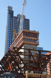 150 North Riverside construction Royalty Free Stock Photos