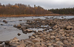 North of Russia.Rivers. Stock Photo