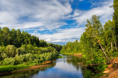 North Russia Royalty Free Stock Images