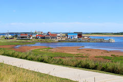 North Rustico harbour Royalty Free Stock Photo