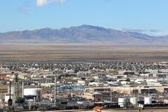 North Salt Lake, Utah. Industrial factories in North Salt Lake City Royalty Free Stock Photo