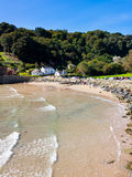 North Sands beach Salcombe Devon Royalty Free Stock Image