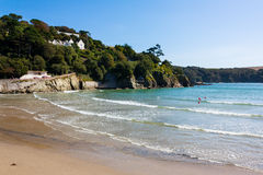 North Sands beach Salcombe Devon Royalty Free Stock Images