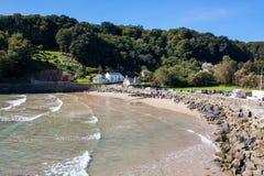 North Sands beach Salcombe Devon Stock Photography