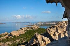 North Sardinia coast at cape Dorso, Italy. Royalty Free Stock Photography