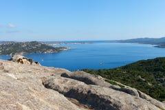 North Sardinia coast at cape Dorso, Italy. Royalty Free Stock Photo