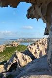 North Sardinia coast at cape Dorso, Italy. Royalty Free Stock Image
