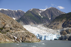 North Sawyer Glacier Royalty Free Stock Photo