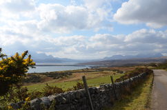 North Scotland. Beautiful, sunny day in Scotland Royalty Free Stock Images