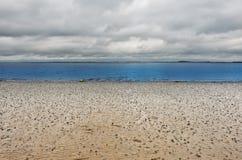 North Sea. The North Sea Coast in Zeeland, Netherlands stock image