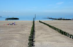 Free North Sea Beach And Beach Life Of Westkapelle Royalty Free Stock Image - 116629476