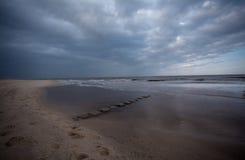 North Sea beach of Sylt.  stock photos