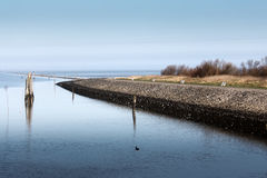 North Sea at Bensersiel Royalty Free Stock Photo
